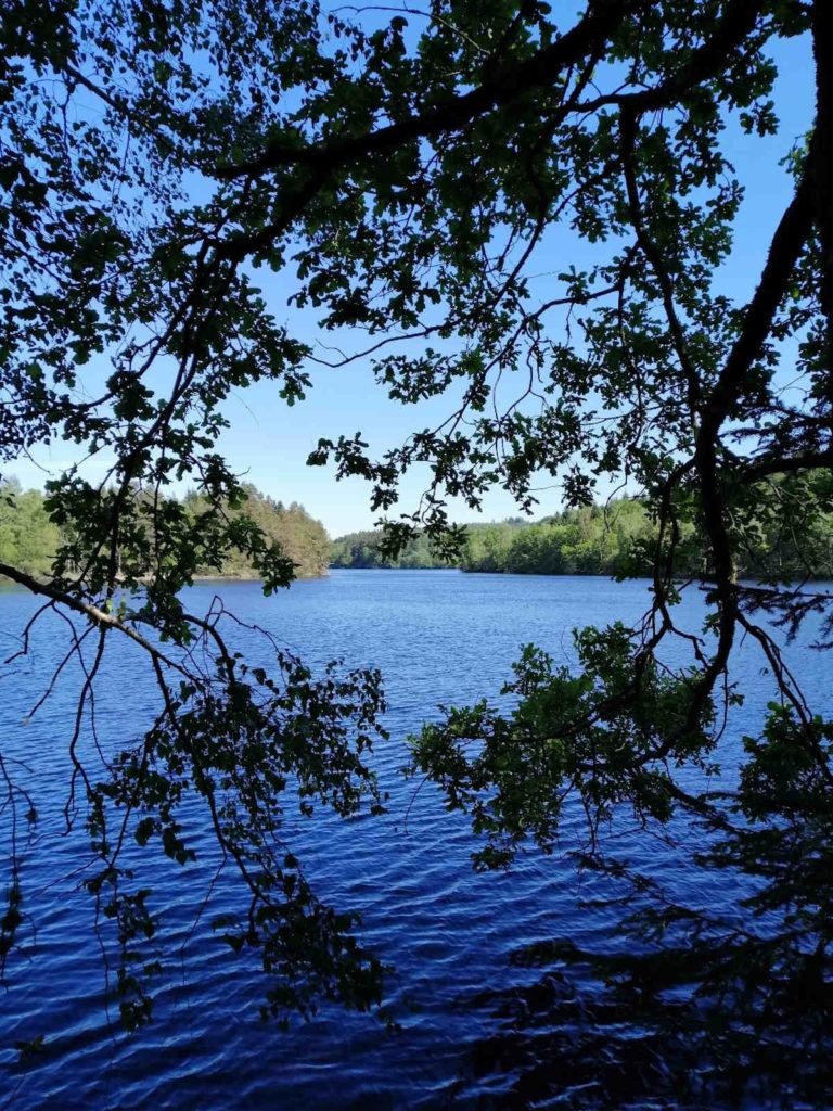 Lac de barrage Creusois