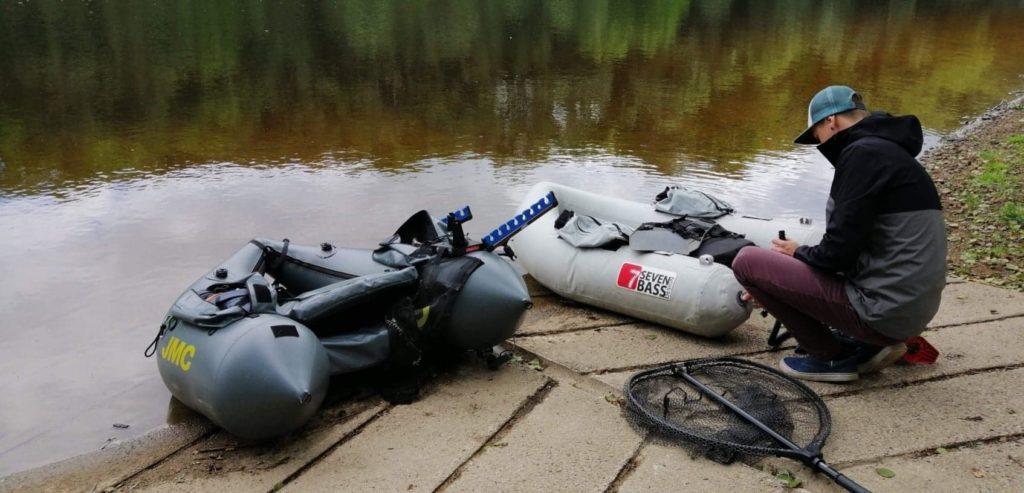 pêche en float tube
