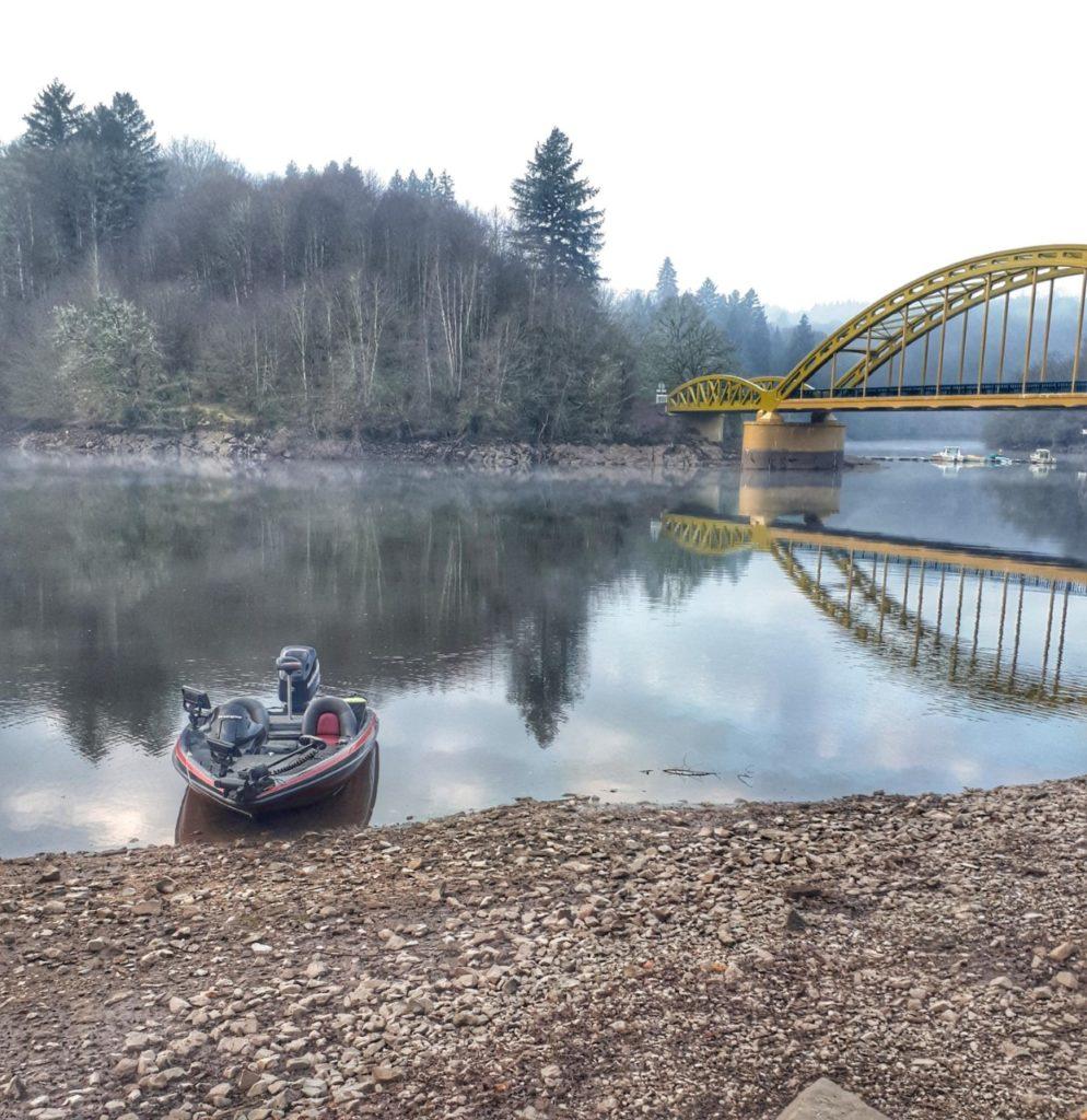 Guidage en bassboat en Creuse