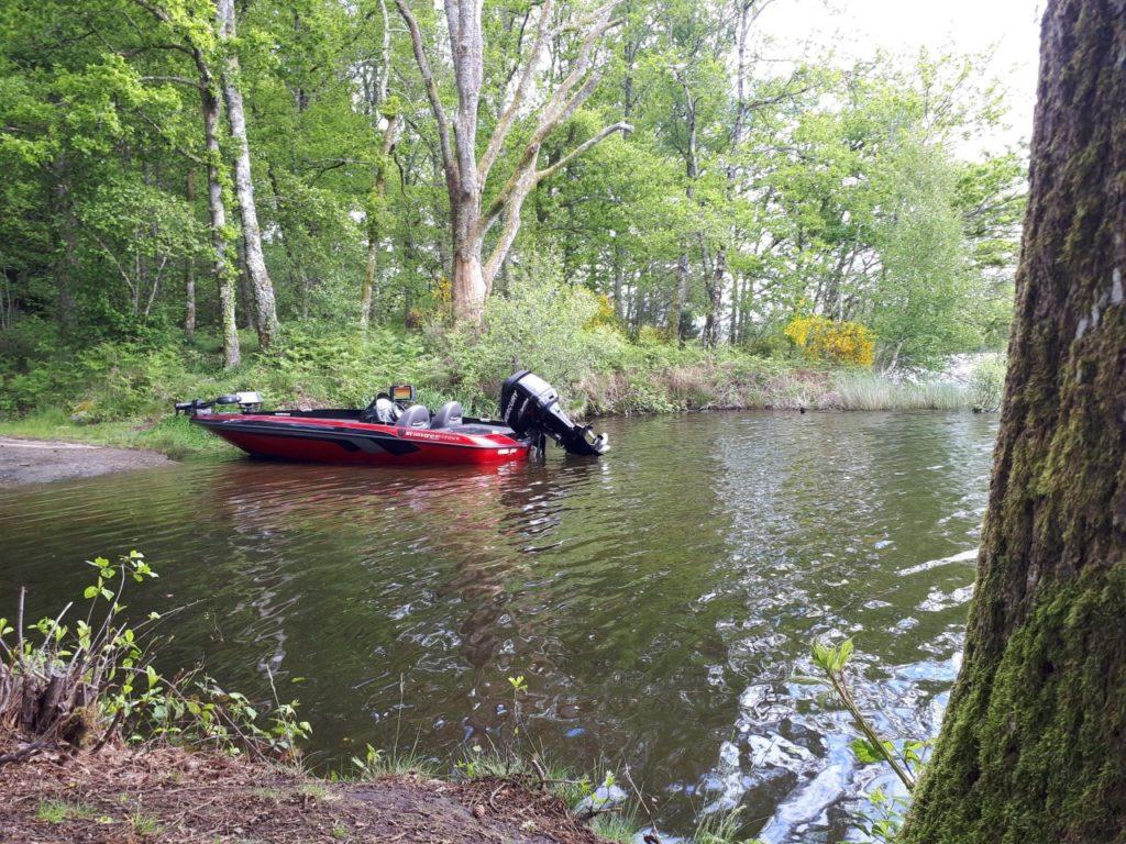bassboat en Limousin